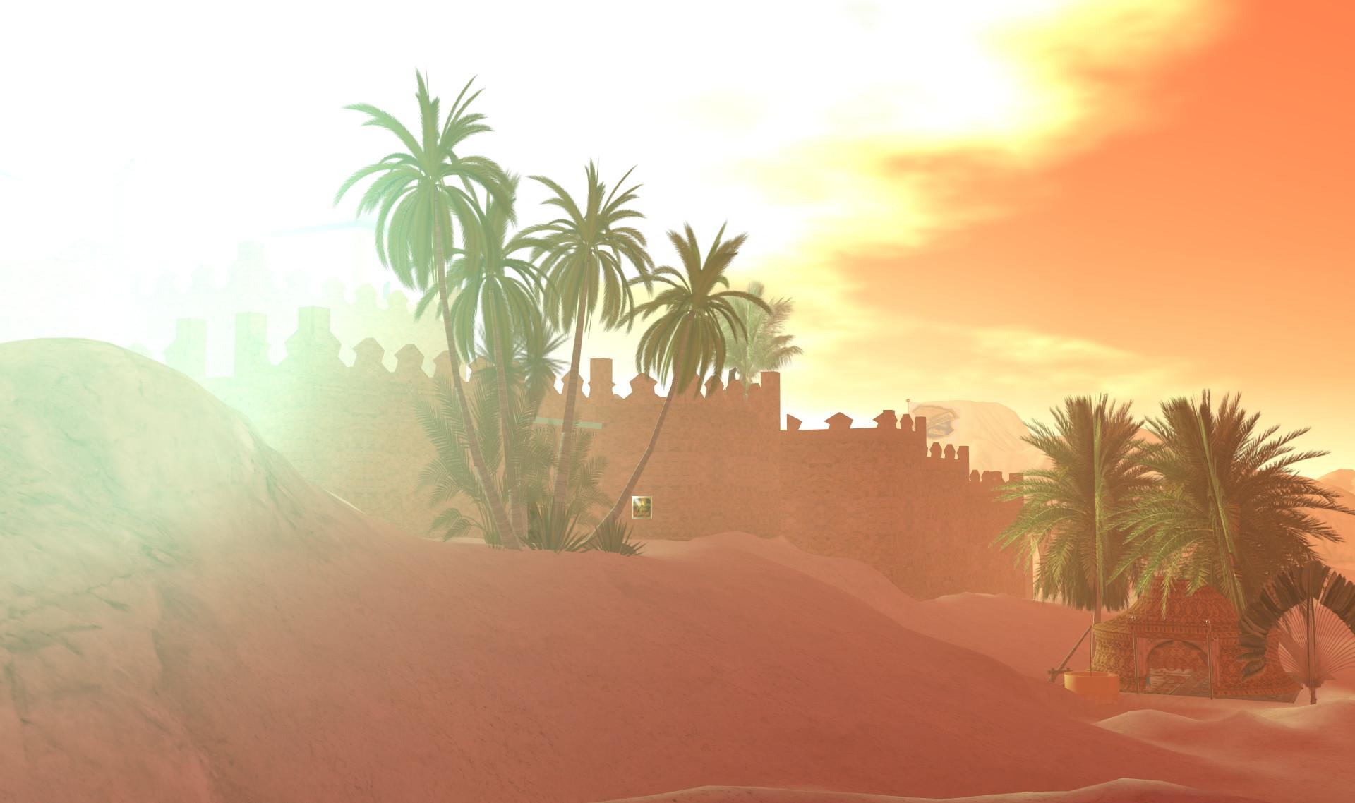The Sand Sleen Oasis